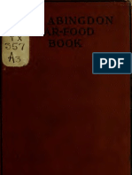 (1918) The Abingdon War-food Book