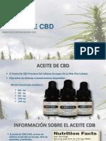 Aceite de Cbd