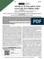 Ethno Medicinal Survey of Area Under Aritar Gram Panchayat Unit, East Sikkim, India