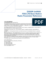 288713641 ZXSDR UniRAN V3!10!20 FDD LTE Base Station Radio Parameter Reference