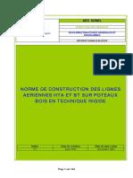 6a3. Norme de Construction Des Lignes Aériennes en Technique