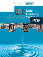 Safe Drinking Water and Rainwater Harvesting
