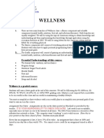 wellness syllabus 2016 17