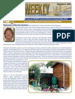 Rainwater Collection Systems - St. Joseph, Missouri