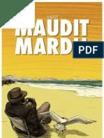 Maudit Mardi ! par Nicolas Vadot, un album de BD aux éditions Sandawe