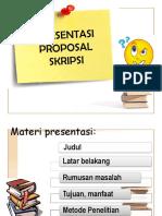 2 Presentasi Proposal