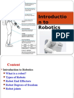Week 1 Robotics Lecture 1