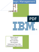 314454820 77789611 IBM Case Study Strategic Management Final Report