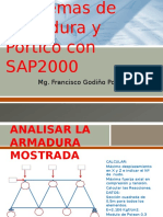 Desarrollo de Problemas Con Sap2000