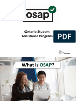 OSAP Student Presentation English