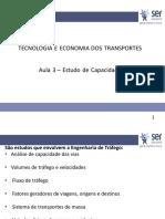 Aula 03 Estudo de Capacidade de transportes