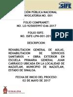 CONV LPN 001 2017