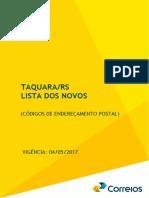 CEPs Taquara