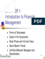 Chapter1 Introduction to Business Finance Presentation