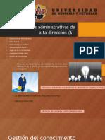 Herramientas administrativas de alta direccion