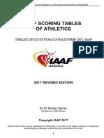IAAF Scoring Tables of Athletics - Outdoor (1)