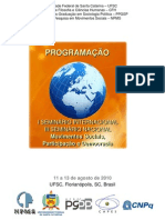 Programa Seminário NPMS - 2010