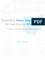 Expanding Voter Registration for Low Income Ohioans
