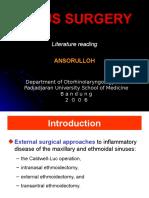 Sinus Surgery - As