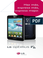 EBrochure LG Optimus F6 Metro Spanish