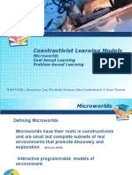 constructivist learning models completed