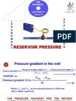 Reservoir Pressure Measurements 1
