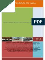 Proyecto de Mantenimiento de Vivero Municipal