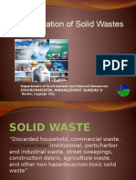 SWM Different Types of Waste