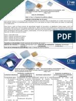 Guia de Actividades y Rúbrica de Evaluación Fase 3 Manejo de Archivos Planos