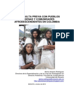 Consulta Previa Con Pueblos Indígenas