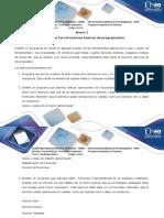 Anexo 1 Paso 4 - Aplicar Las Estructuras Básicas de Programación