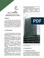 Problematiche strutturali per gli edifici alti