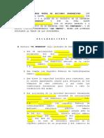 Contrato de Cv de Acciones- Pf Pf