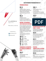 Boletin Filarmonico Mayo 2017