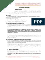 ESPECIFICACIONES TECNICAS AGUA POTABLE Y SERVICIOS HIGIENICOS