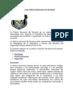 Requisitos Para Ser Policía Nacional en Panamá