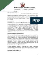 Vacancia de Regidor Por Inasistencia - Res. Jne_pr