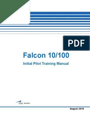 Ptm Falcon 10 100 | Jet Fuel | Takeoff on