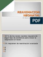 Reanimacion Neonatal y Valoración