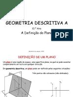 Plano - geometria descritiva