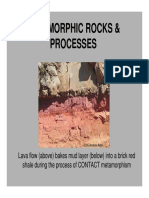 Metamorphic Rocks & Processes