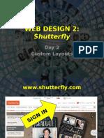 web - 2017 - s2 - wd2 - week 16 - shutterfly day 2