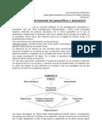 IV Seminario Internacional de Geopolítica y Educación