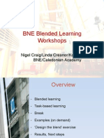 Blended learning workshop Glasgow Caledonian University