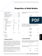 Civil Engineering Reference Manual for the PE Exam-Properties of Solid Bodies