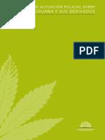 Protocolo de Actuacion Sobre Ley de Marihuana y Sus Derivados