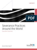 Severance Practices Around the World