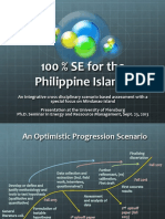 100 Percent Sustainable Energy for the Philippines