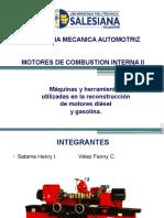 Máquinas y Herramientas Utilizadas en La Reconstrucción de Motores Diésel y Gasolina Copia