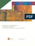 evaluacinydesarrollodelacompetenciacognitiva-140517103506-phpapp01